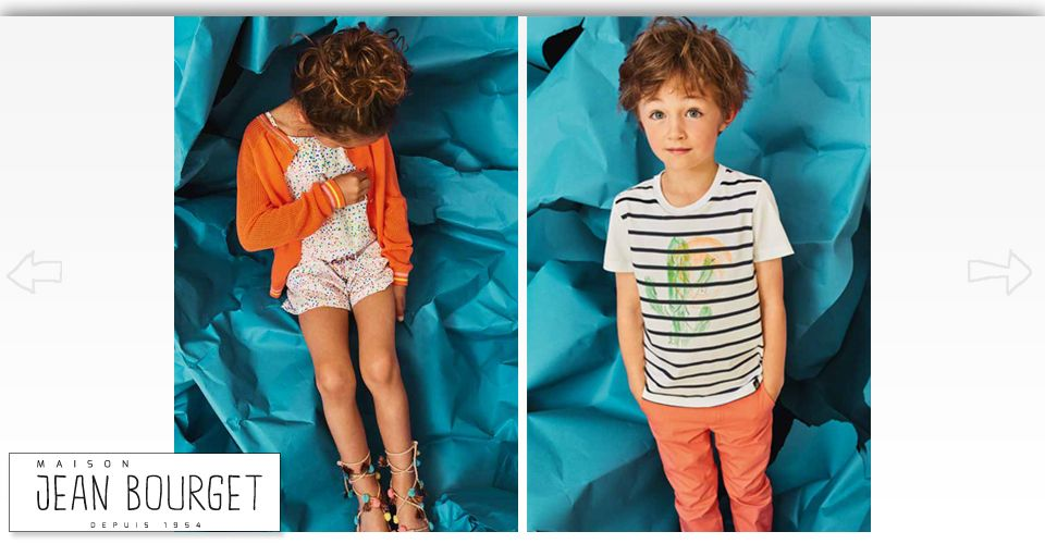 Kids wearing Maison Jean Bourget clothes